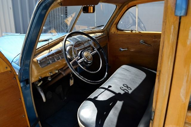 1947 FORD WOODY WAGON 9