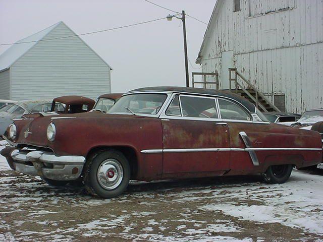 1952 LINCOLN 2 DR. HDTP.