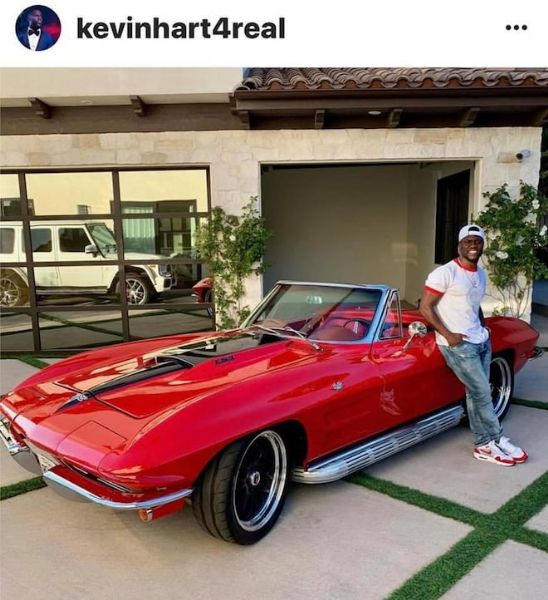 Kevin Harts 1964 Sting Ray Restomod | AutaBuy com